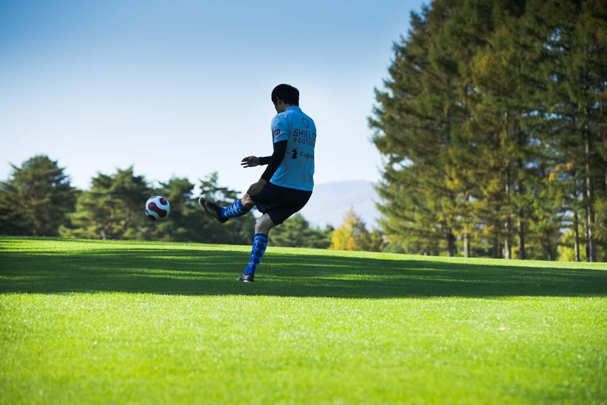 空気圧が高いと球は遠くまで飛ぶが、その分、コントロール性は落ちる。