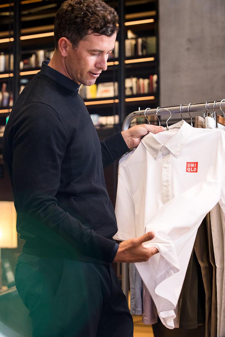 ポロシャツの質感の追求にもかなりのこだわりが。