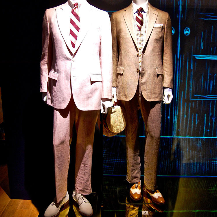 BROOKS BROTHERS costume design for the movie,