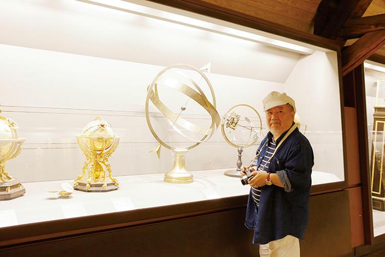 天文機器のコレクションも見応えがあるものだったが、その他に電気などのエネルギー機器の発展や、初期の交通機関などの展示も楽しめた。