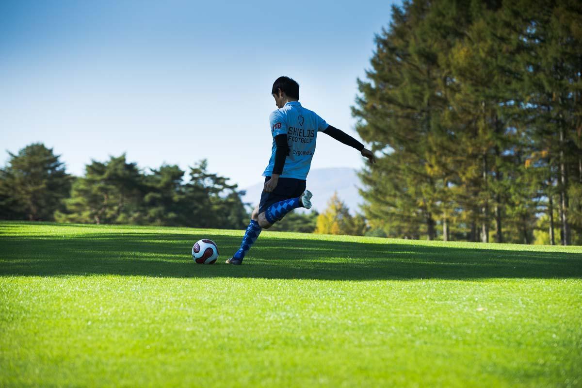 ボールの空気圧も、スコアを左右する重要なポイント。