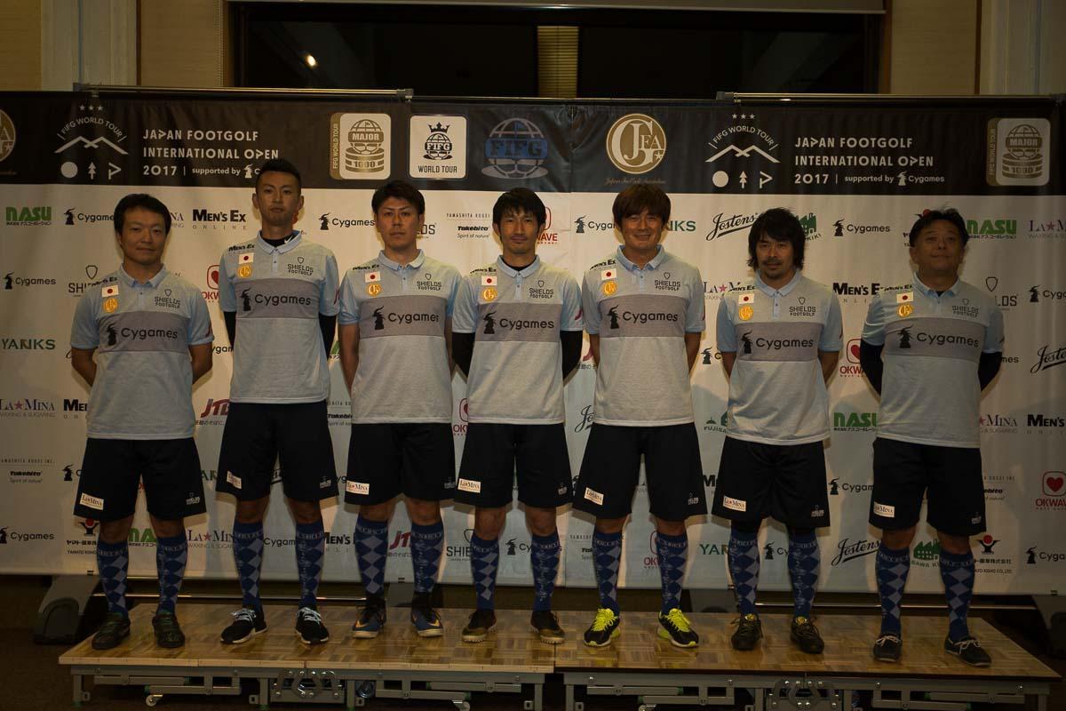 日本代表選手発表!