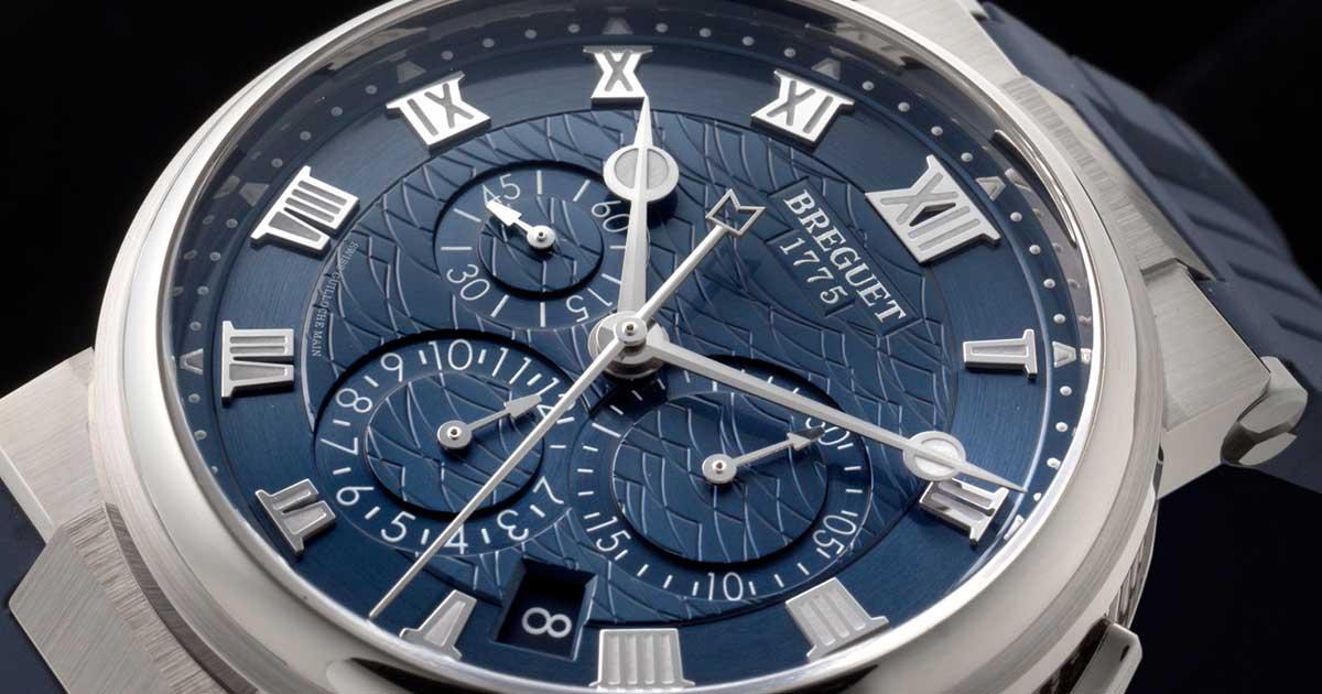 purchase cheap 6cbdb cb5f2 天才時計師ブレゲの海洋での業績を今に伝える「マリーン ...