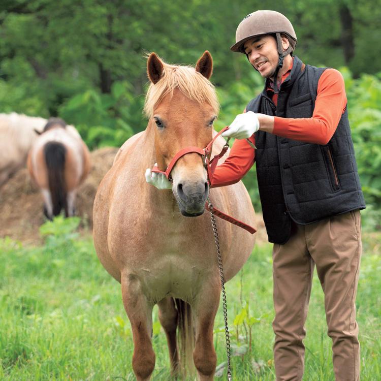 1.野にいる馬を自分で捕まえる