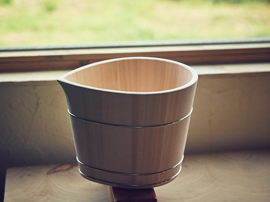 シャンパンクーラーの「konoha」はドン・ペリニヨンの公式クーラーに認定されるなど、海外でも高い評価を得た。