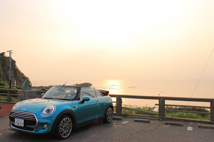 天気が良いと富士山が見えることも