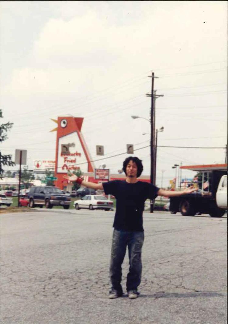 19歳のとき、初めての海外旅行でアトランタに「アメリカに留学していた友人のところに1週間ほど滞在しました」。