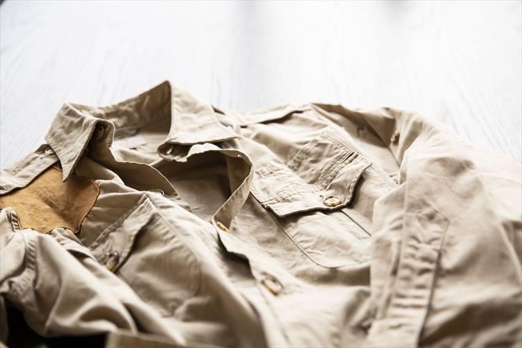 アバクロンビー&フィッチの古着のサファリジャケット。おそらく1960年代〜70年代ごろのものと思われる。「今でも重宝している一着です」と太田さん。