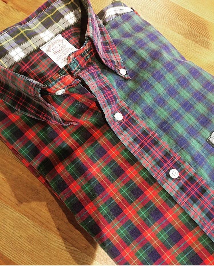 太田裕康さんのお姉さんが買ってくれたブルックス ブラザーズのシャツ