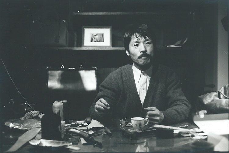 渋谷に工房を構えていた時代の藤井さん