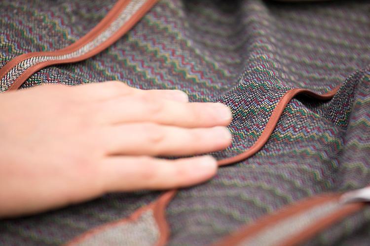 極上の糸を使っているので手触りも滑らか。