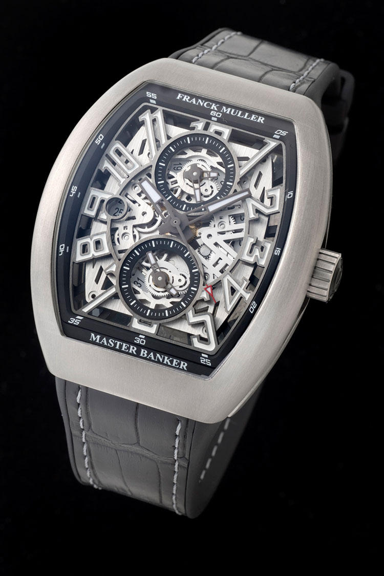 hot sale online c7e5e 8b878 22年前、天才フランク ミュラーが銀行家のために作った時計が ...