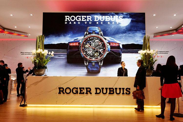 <b>ROGER DUBUIS >></b>