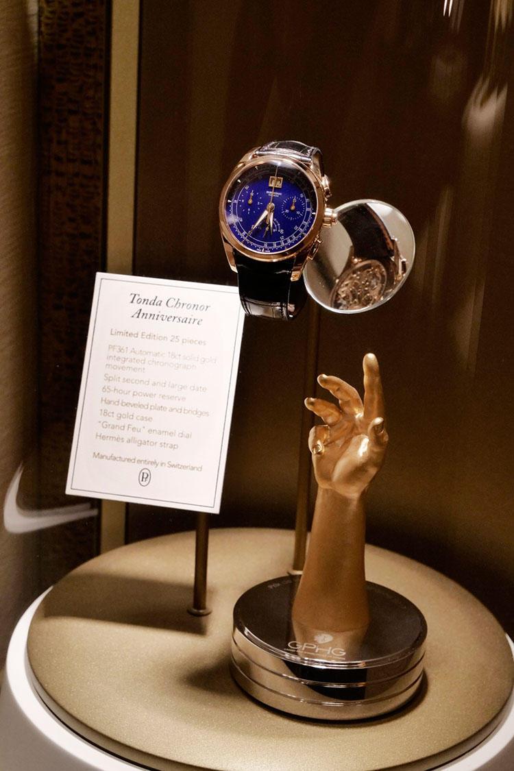 2017年のジュネーブ時計グランプリでの受賞作のひとつ「トンダ クロノール アニヴェルセール」。