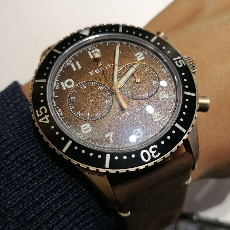 <a href='http://www.mens-ex.jp/column/2018SIHH/180216_19.html' target='_self'>ゼニス パイロット クロノメトロ Tipo CP-2 フライバック</a>