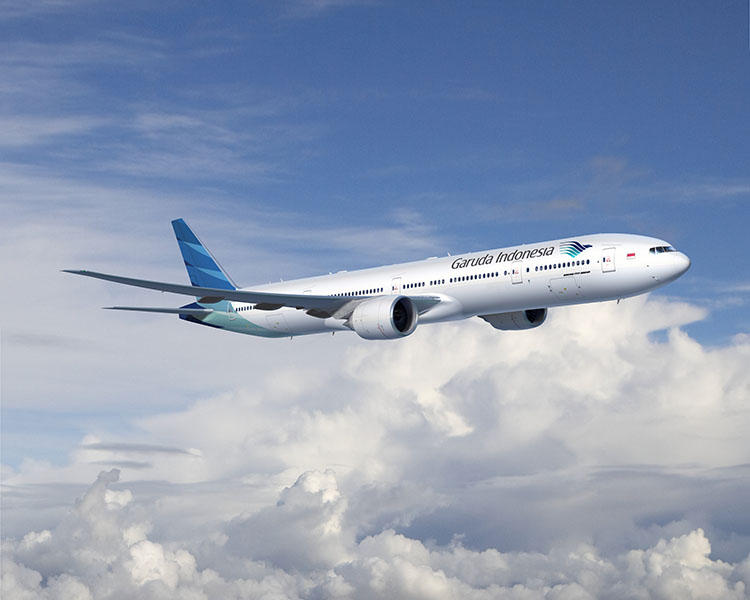 ガルーダ・インドネシア航空での成田〜デンパザール空港の直行便。