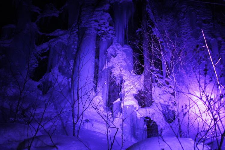 ライティングの色味をより青に近づけたもの。光の色身によってその表情は変わる。