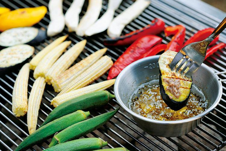 「生」じゃなくて「焼き」野菜で楽しむのがポイント!