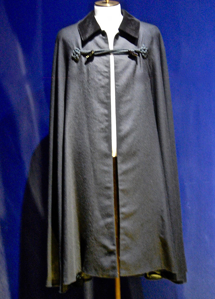Reproduction of cape worn by President Roosevelt