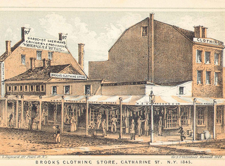 the first store in 1818