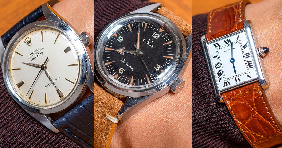 half off 1bd8c b7c86 ロレックス、カルティエ、オメガ...「どこの時計?」と必ず聞か ...