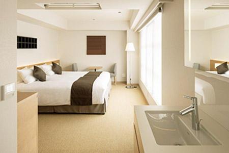 「ENSO ANGO FUYA Ⅱ」の客室の一例。