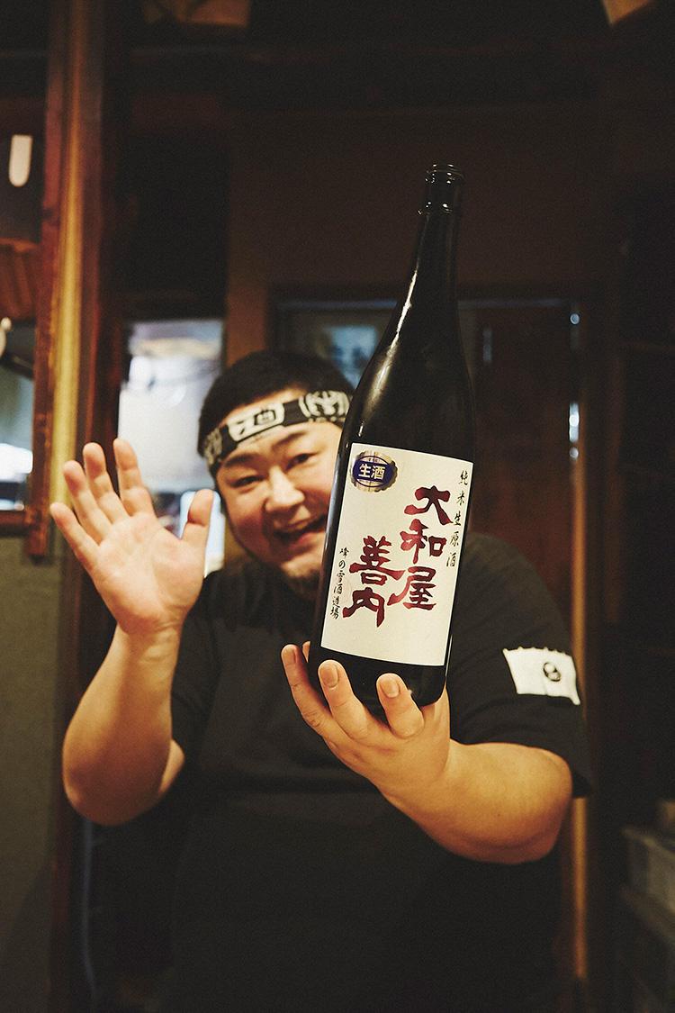 お店の日本酒マスターが、気分に合わせた日本酒を見繕ってくれる!