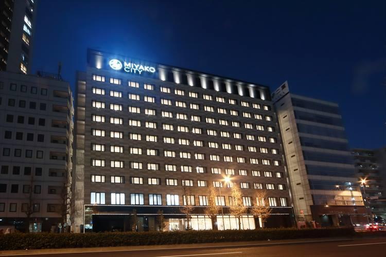 第一京浜沿いに立つホテル「都シティ 東京高輪」