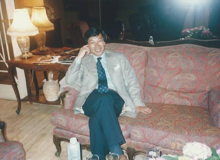 1993年、パリのアンヌマリー・ベレッタ宅で撮影された1枚