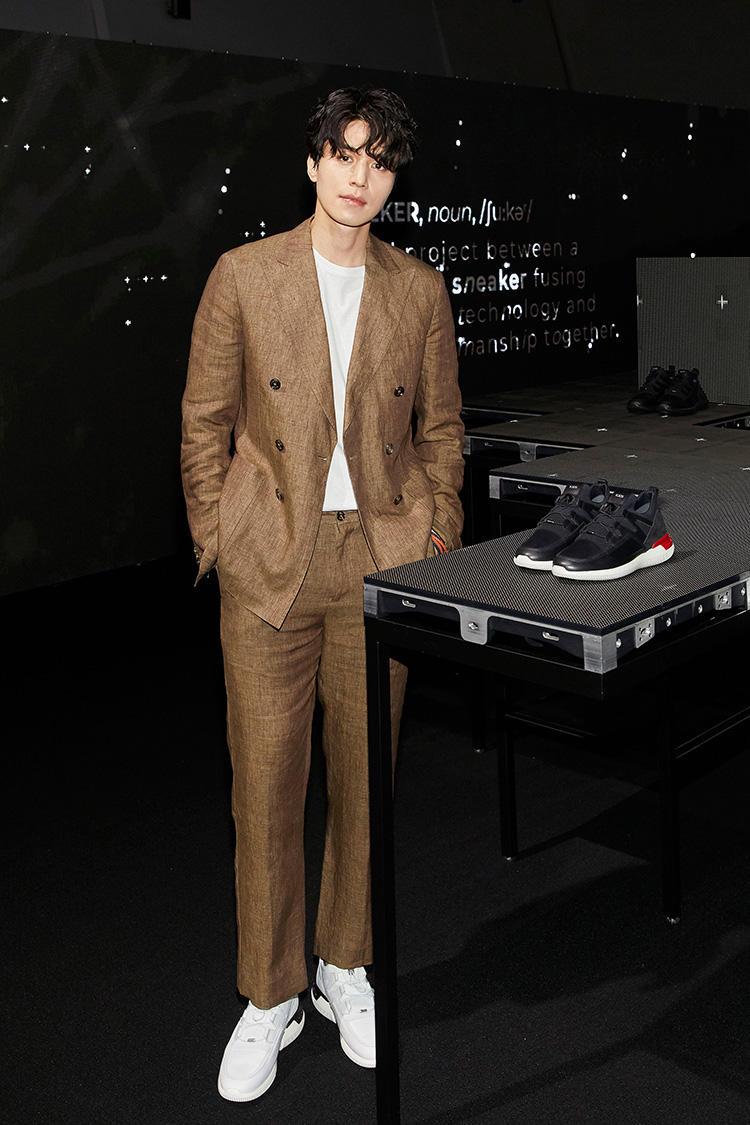 韓国の俳優、リー・ドンゴンさん。