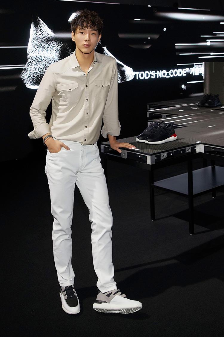 韓国の俳優、チェ・ジフンさん。