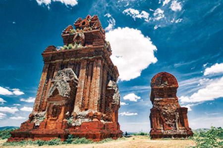 チャンパ王国の遺跡