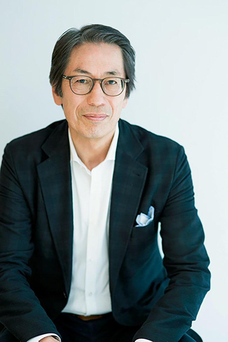 <b>エルメスの職人技を長年見てきたからこそ日本の職人技へも目が向きました。(齋藤峰明さん)</b></br>エルメスジャポンの社長からエルメスパリ本社の副社長(外国人初)を経て、現在アトリエ・ブランマント総合ディレクターを務める。Photo:@Nobutaka Sato。