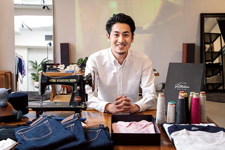 <b>「作り手、使い手、伝え手、社会の四方良しの世界を目指します」(山田敏夫さん)</b></br>熊本の老舗婦人服店に生まれる。パリのグッチなどで勤務後、日本で起業。現在は後継者育成にも力を注ぐ。