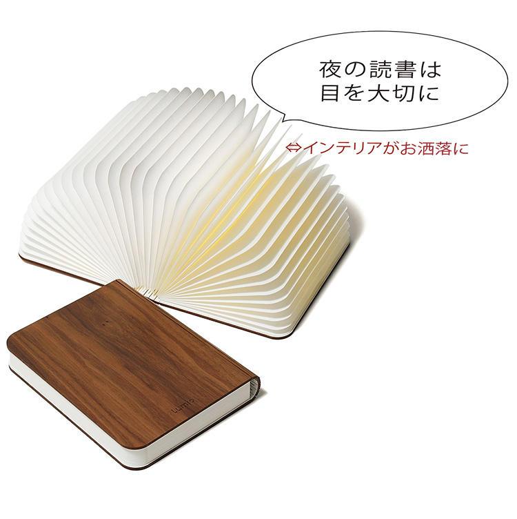 <for SHARE> 1万円以上〜3万円未満<br><b>ルミオのポータブルライト「ルミオエスエフ」 <br>2万9600円</b><br>閉じているときは表紙が木製の美しい本に見えるが、開くと高機能LED照明に早変わり。丈夫で耐水性の高いタイベックを使用しているため、様々なシーンで使える。ベッドサイドテーブルに置くのに丁度いい大きさは、読書好きには最適なギフトだ。(アークトレーディング)