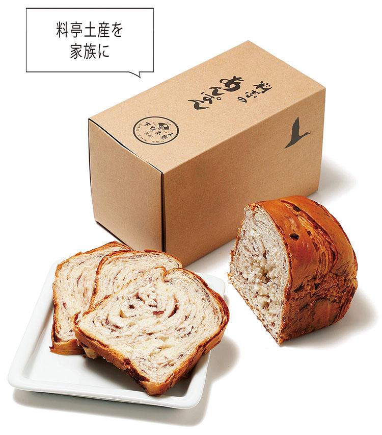<for SHARE> 〜1万円未満<br><b>下鴨茶寮の「料亭のあんぱん」 <br>1600円</b><br>自分ばかり接待で美味しいものを食べて。そんな家族への罪滅ぼしに「料亭のあんぱん」を。京都で約160年続く「下鴨茶寮」が顧客にだけ差し上げていたもので、酒種で仕込み、大納言小豆を練りこんだ食パン型あんぱん。こんがり焼きバターをたっぷり塗ると絶品だ。(下鴨茶寮)