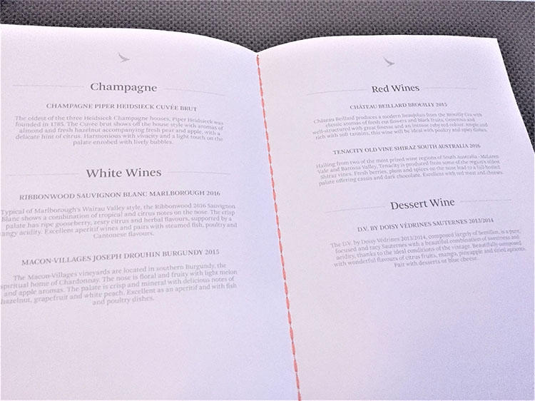 充実したワインリスト。