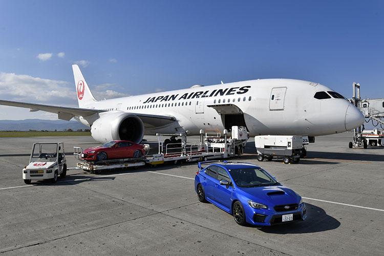 JAL機ボーイング787とスバルの意外な関係