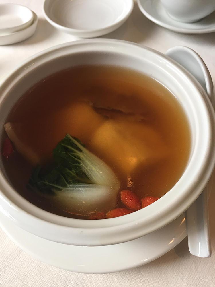 滋味豊かなスープがしみる