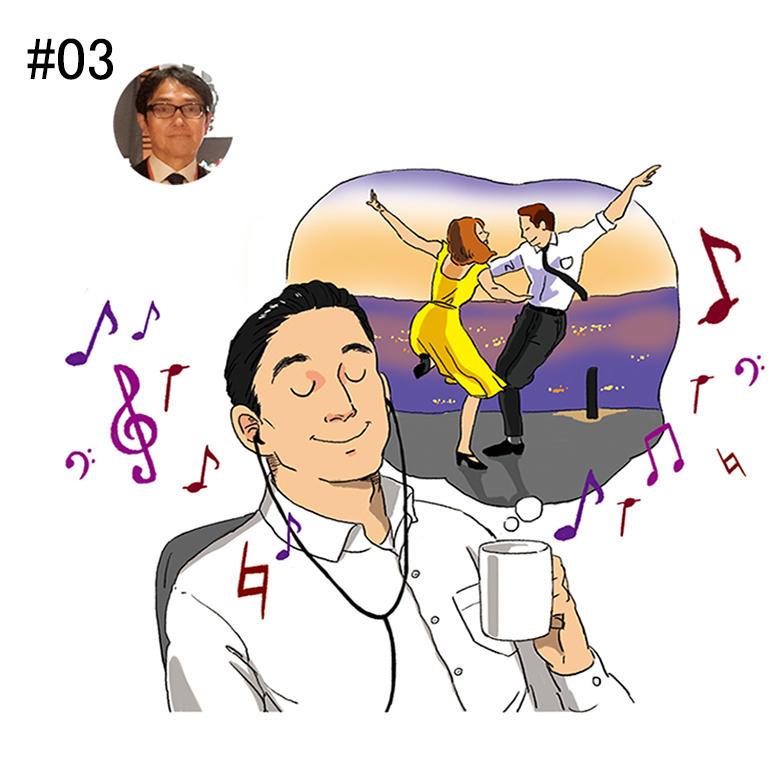 <b>「映画のピアノ挿入曲は当時の思い出が蘇り奮い立ちます」</b><br>カシオ計算機 営業本部 国内営業統轄部 時計推進部 部長<br><b>青鹿行男さん</b><br><br>映画の魅力は、映像と音楽の調和と語る青鹿さん。挿入曲でよく用いられるピアノの旋律は、映画の評価を左右するそう。「ピアノの音色を聴くと、映画のことだけでなく、観た当時の様々な記憶が蘇ります。仕事の成功体験や失敗などが思い出され鼓舞されます」。最近印象に残った最高のピアノ曲は、映画『ラ・ラ・ランド』の『シティ・オブ・スターズ』だそう。