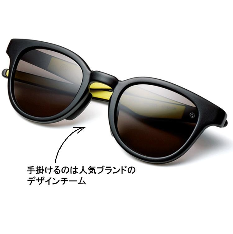 <b>EYEVOL</b><br><br>わずか23g! 人気アイウェアブランド「アイヴァン 7285」のデザインチームが手掛けるスタイリッシュなサングラスは、ファッション感度の高い人たちが注目。日本製だけに強度やフィット感はお墨付きだ。2万円/アイヴォル(アイヴォル トウキョウ ストア