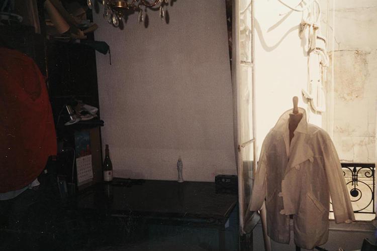同じく、ペコラさんによる一着。仕立ての途中で撮影されている。