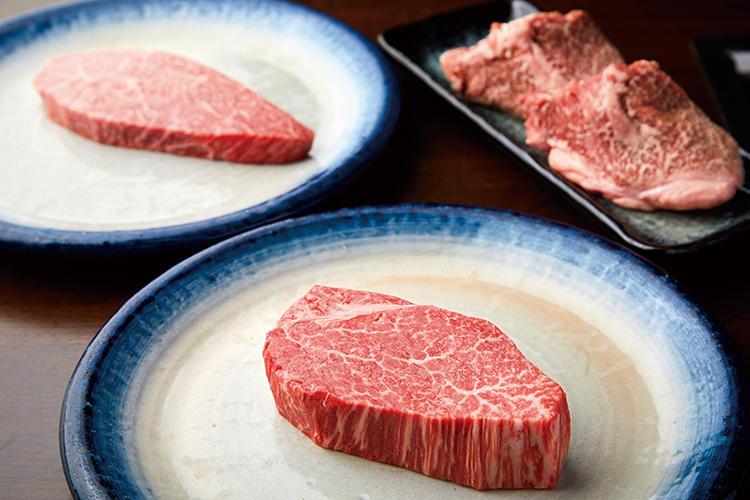 焼肉たつみの肉