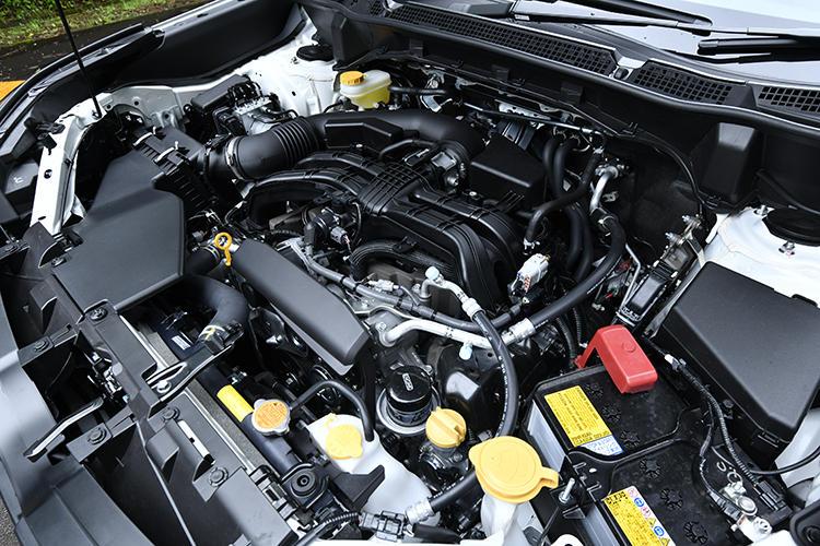 Premiumのほか、X-BREAK、Touringには、2.5リッター水平対向4気筒エンジンを採用。最高出力は184PS、最大トルクは239N・mとなる。