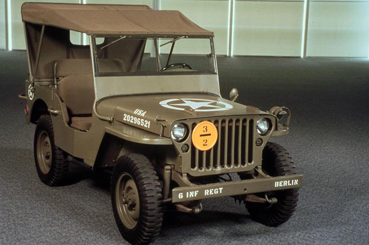 軍用車を起源とするSUVの代表例がジープ ラングラー。そのルーツが第2次世界大戦で活躍したウイリス ジープ。