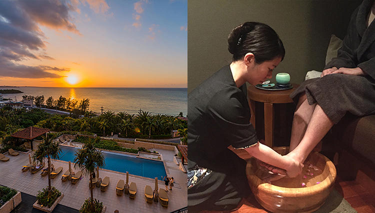 カフー リゾート フチャク コンド・ホテルとThe green SPA