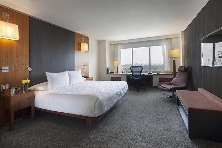 セントラルパークを一望できる「Tower Parkview Room」