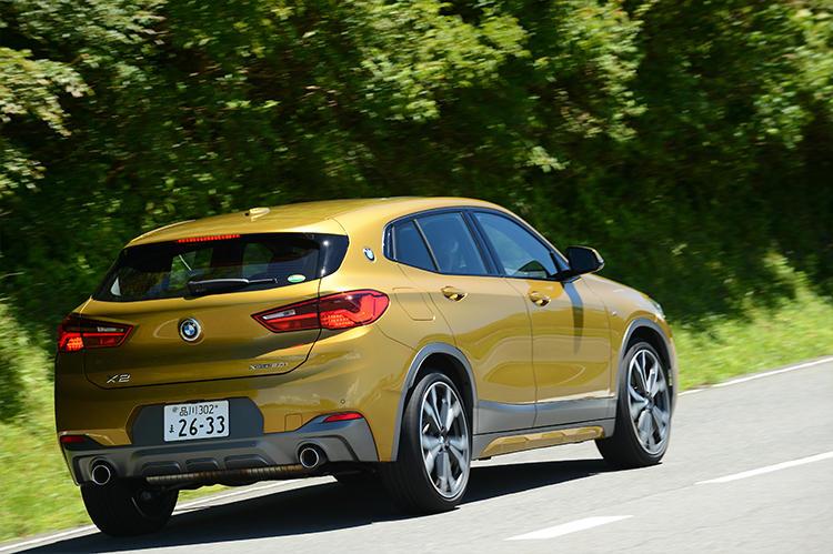 BMWのバックスタイル