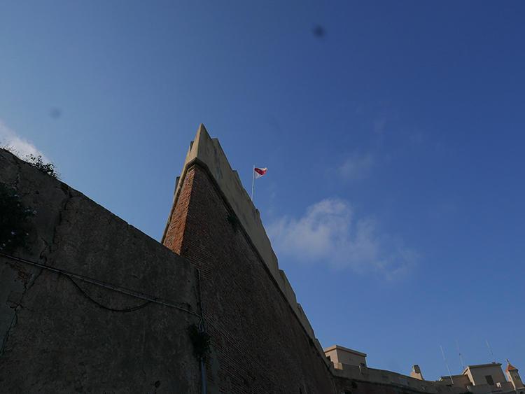エルバ島の城の跡地