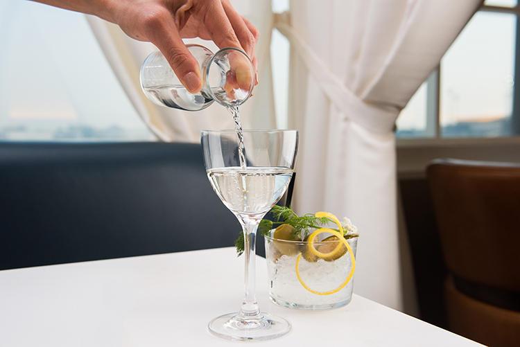 お酒の強い方なら、アルコール類も充実。